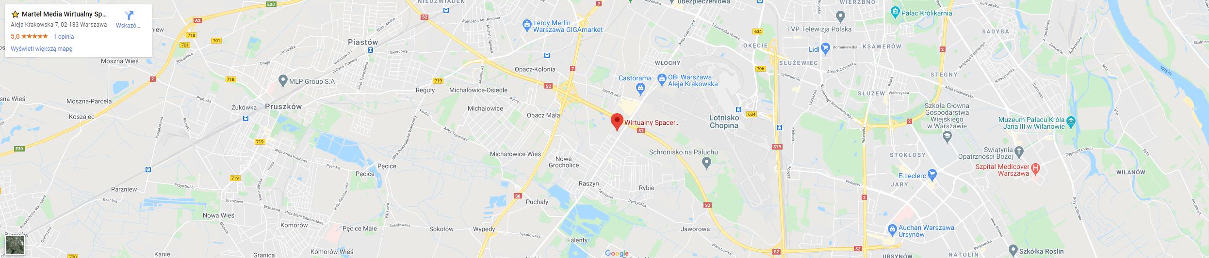 mapa martel m